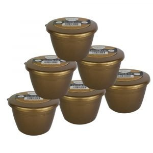 1/4 Pint Gold Pudding Basins