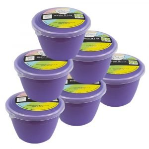 Lilac Pudding Basins 1/4 Pint