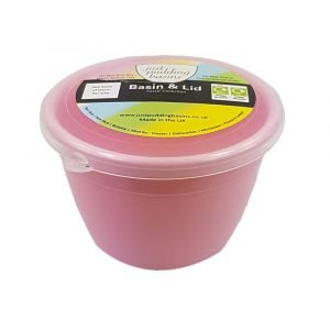 1/4 Pint Pink Pudding Basin