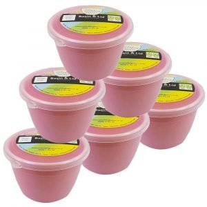 Pink Pudding Basins 1/4 Pint