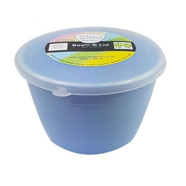 1/2 Pint Blue Pudding Basin