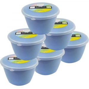 1/2 Pint Blue Pudding Basins