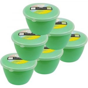 Green Pudding Basins 1/2 Pint