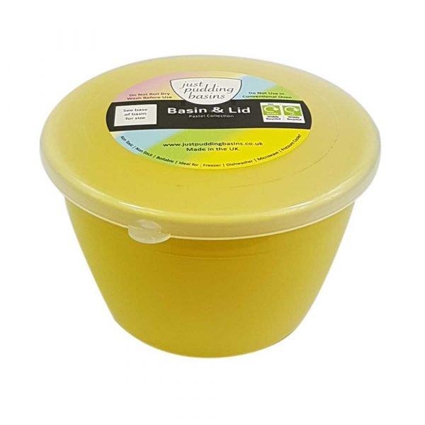 1/2 Pint Yellow Pudding Basin