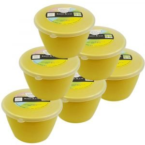 1/2 Pint Yellow Pudding Basins