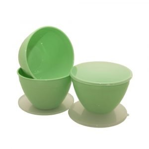 Green Pudding Basins 1.5 Pint