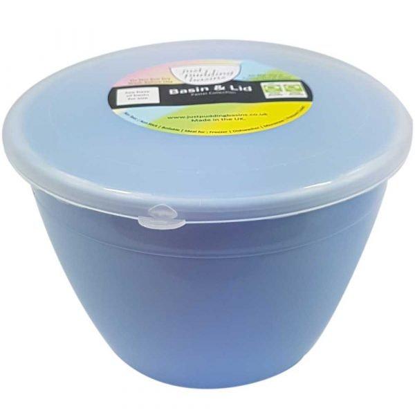 1 Pint Blue Pudding Basin