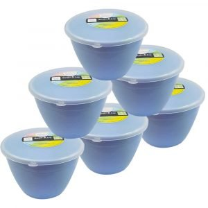 1 Pint Blue Pudding Basins