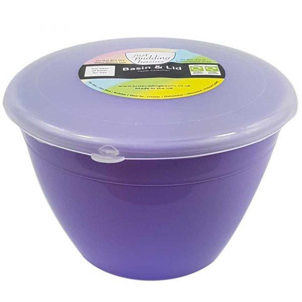 1 Pint Lilac Pudding Basin