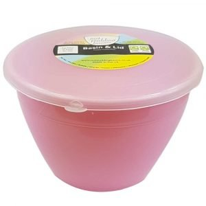 1 Pint Pink Pudding Basin