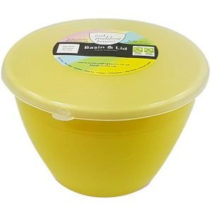 1 Pint Yellow Pudding Basin