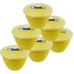 Yellow Pudding Basins Size 1 PInt