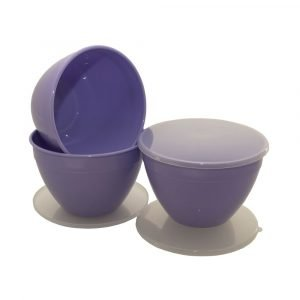 Lilac Pudding Basin 2 Pint | 3 Pack