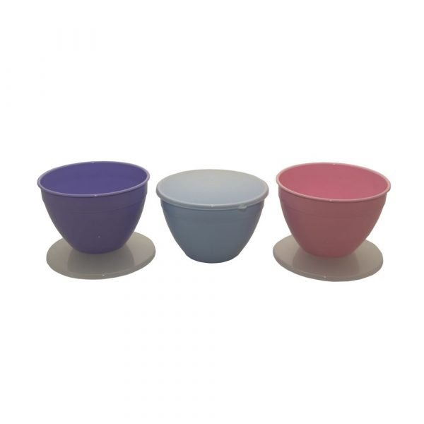 2 Pint Pudding Basins in Summer Colours