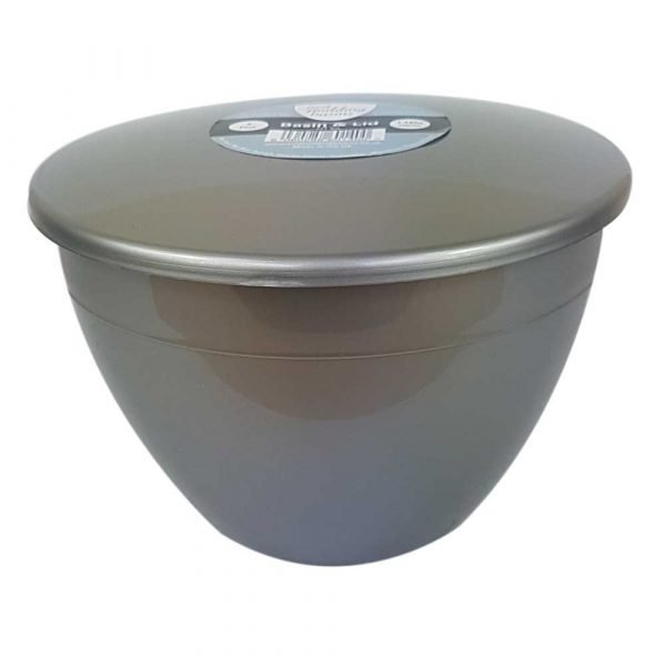 2 Pint Silver Pudding Basin with Lid