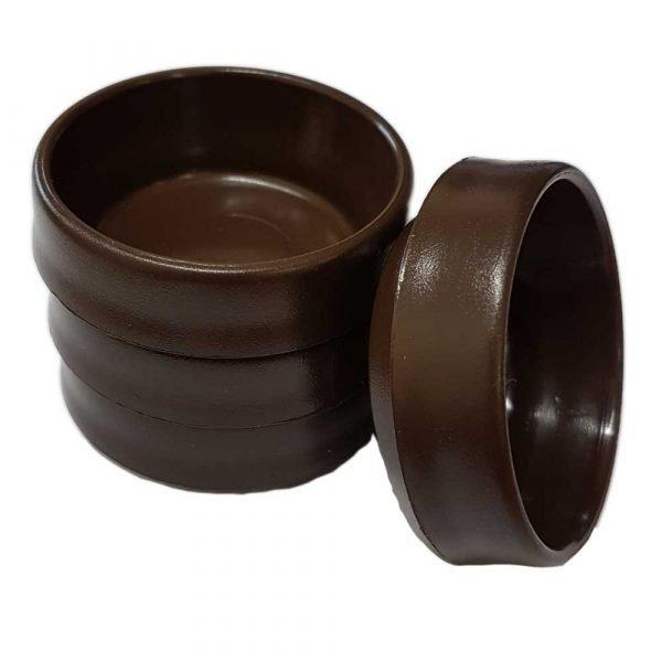 Brown Castor Cups