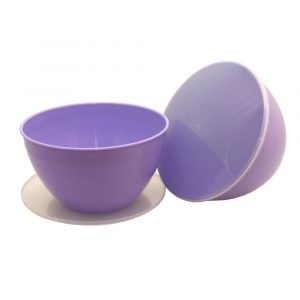 Large 4 Pint Lilac Pudding Basin