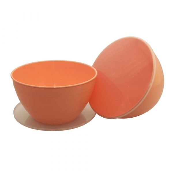 Large 4 Pint Peach Pudding Basin