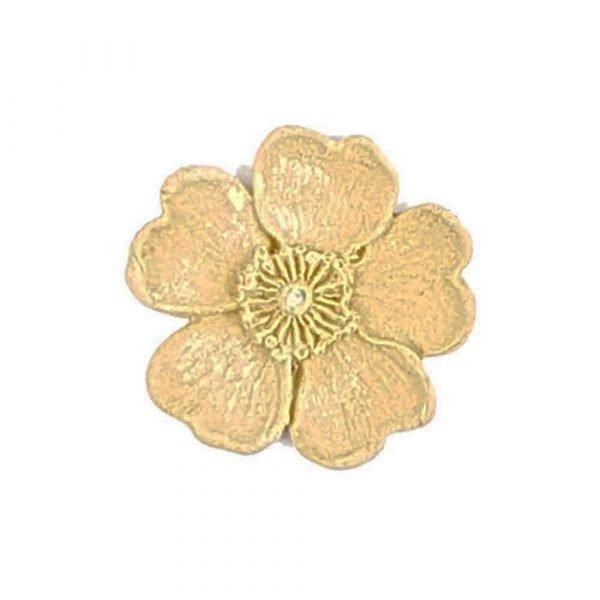 Buttercup Flower Wooden Moulding 4cm