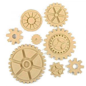 SteamPunk Cogs and Wheels 8pk