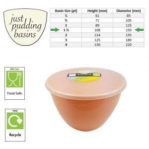 Peach 1.5pint size
