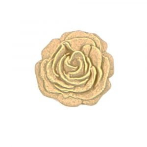 Small Rose Flower Wood U Bend