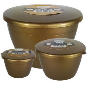 Gold Pudding Basin Set