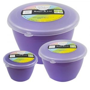 Lilac Pudding Basin Set