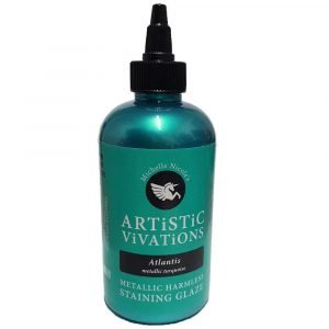 Turquoise Artistic Vivations Metallic