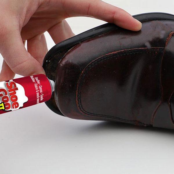Use Shoe glue on Shoes