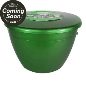 1 Pint Emerald Green Pudding basin with lid x6