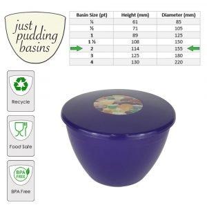 purple 2pt size