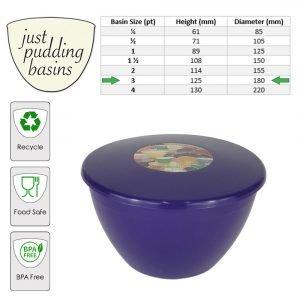 purple 3pt size